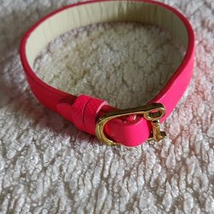 Keep Collective Pink/Natural Bracelet
